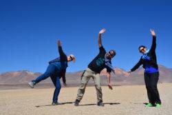 Claire, Christian et Sandrine dans le Sud Lipez