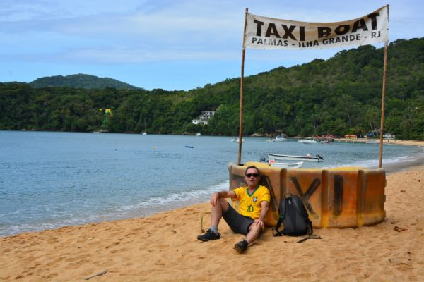 Christian attend son taxi boat