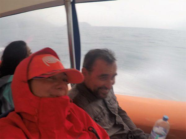 Arrivée à Ilha Grande sous la pluie