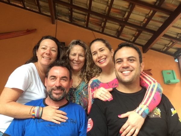 Camilha et sa famille