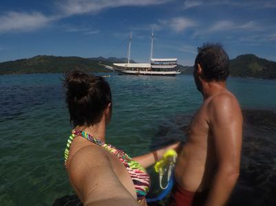 A nous le boat tour à Paraty